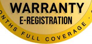 Warranty e-Registration