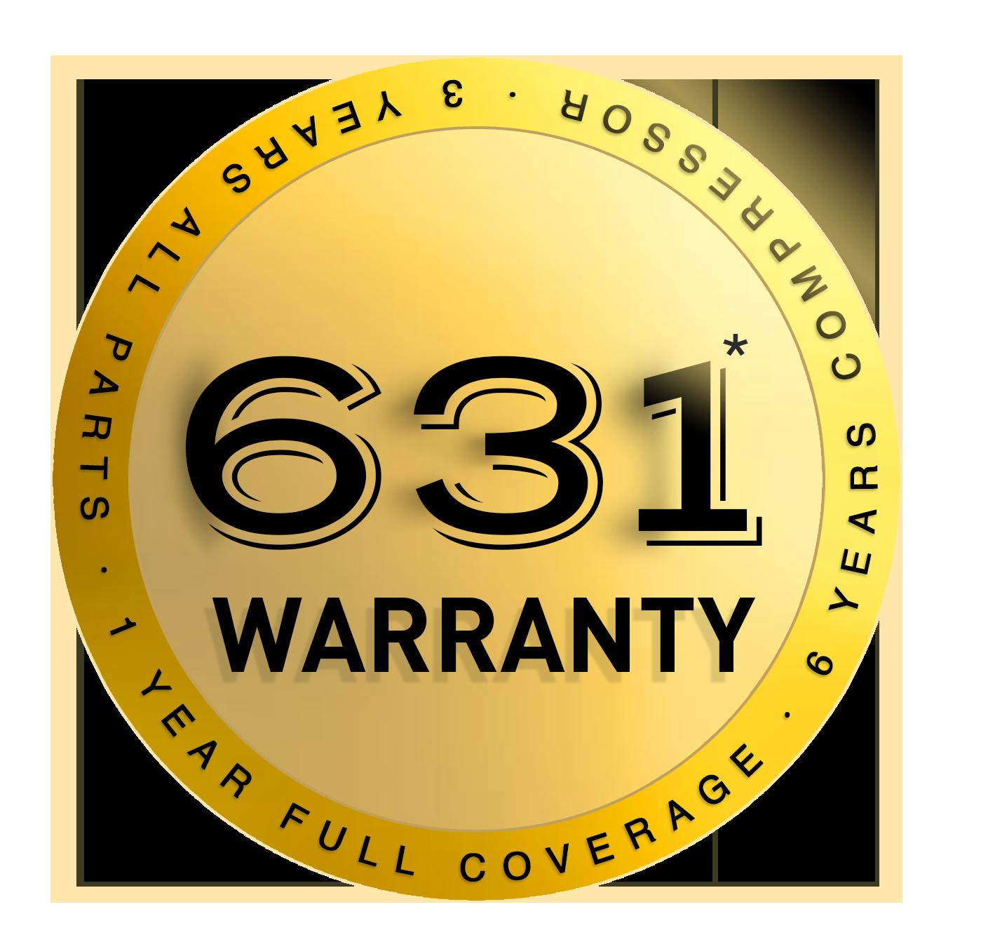 Avolta 631 Warranty